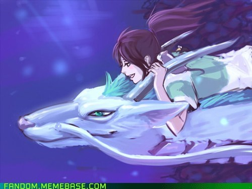 anime best of week Fan Art movies spirited away - 5440098304