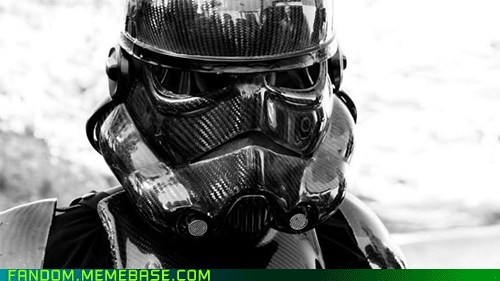 awesome carbon fiber cosplay star wars stormtrooper - 5440140288