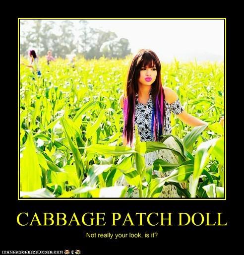 cabbage patch kid corn corn fields looks Selena Gomez wtf - 5440154112