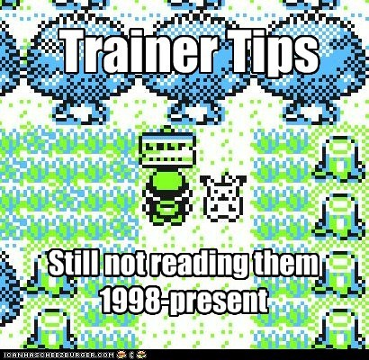 Trainer Tips Still not reading them 1998-present