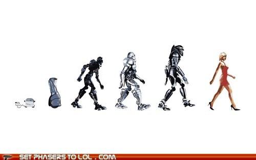 Battlestar Galactica cylons evolution robots toster - 5440249344
