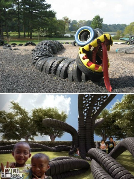 design playground recycle repurposed sculpture tire whee - 5440261888