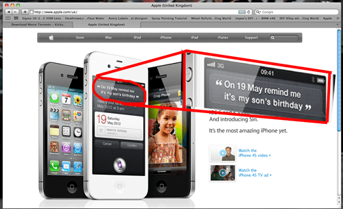 Ad,iphone,iphone 4s,negligent,parent,parenting,siri