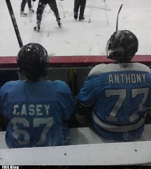Casey Anthony,hiding,hockey,sports,witness protection