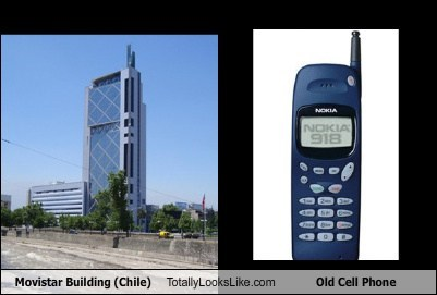 cell phone funny movistar building TLL - 5440372992