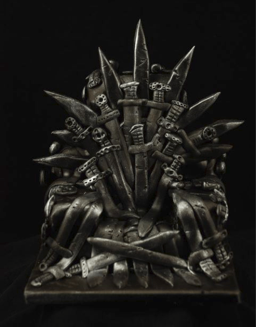 cake Game of Thrones iron throne tv shows