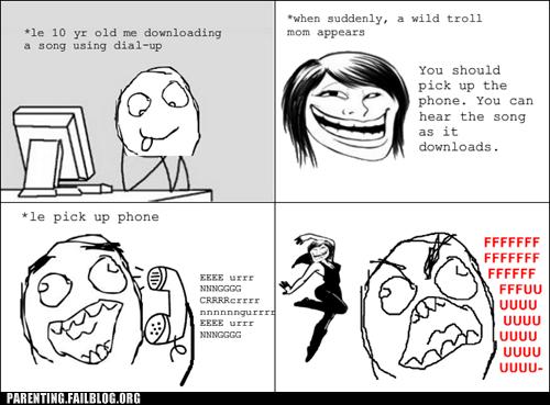 dubstep Music Parenting Fail phone rage comic troll - 5440660736