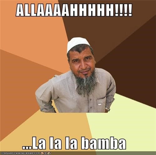 allah,la bamba,muslim,Ordinary Muslim Man,racism,Songs