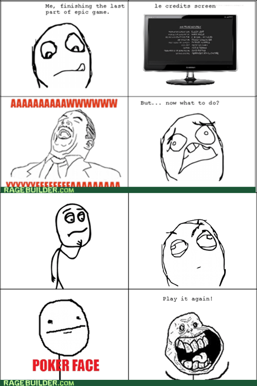 end Rage Comics Sad video games - 5441087744