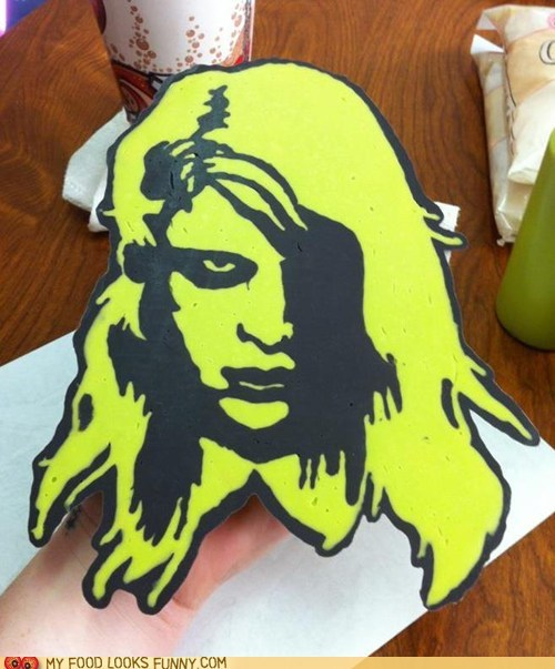 Chocolate painting-night of the living dead