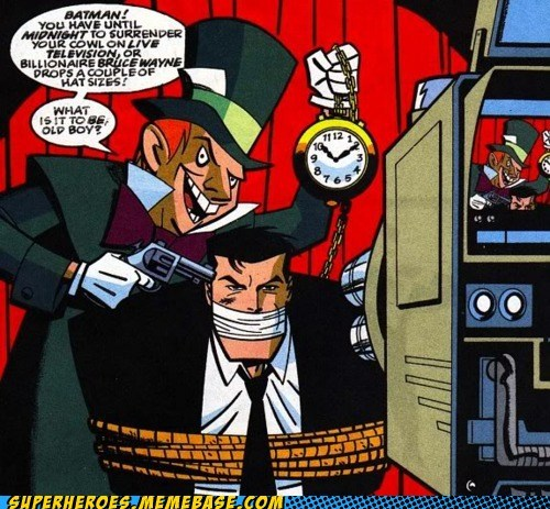 batman bruce wayne mad hatter Straight off the Page - 5441731584