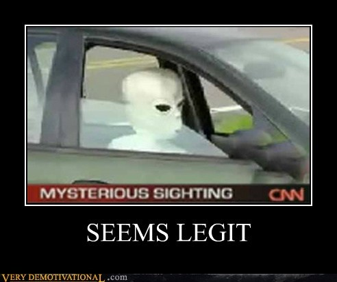 alien car cnn driving hilarious