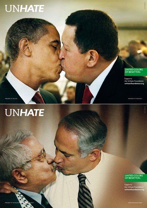 Marketing Campaign UNHATE United Colors of Benetton - 5442748416