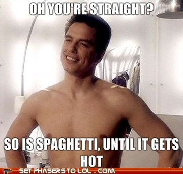 Captain Jack Harkness,doctor who,hot,john barrowman,straight