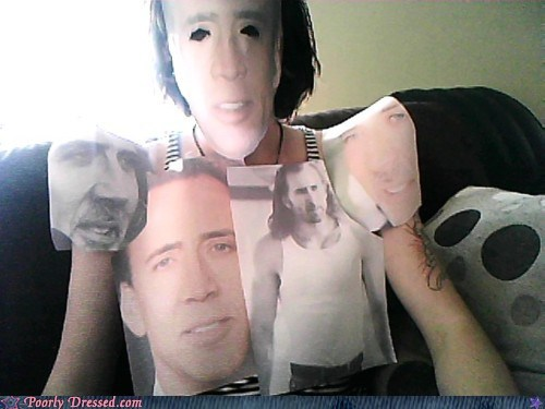 cage face Hall of Fame horrible movies nicolas cage