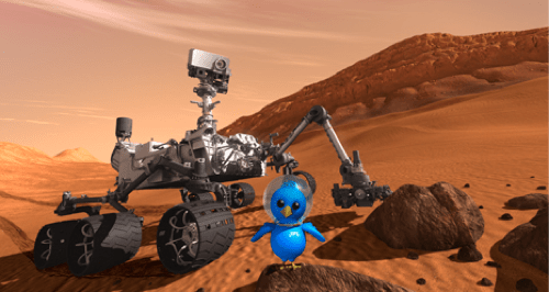 curiosity,mars rover,nasa,Nerd News,space,tweetup
