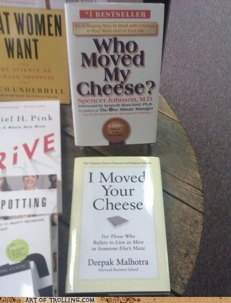 books,cheese,IRL