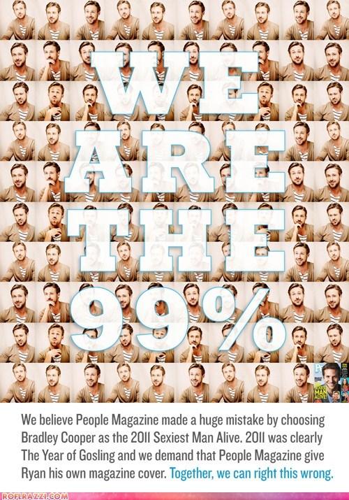 actor bradley cooper celeb funny Ryan Gosling sexy - 5443651840