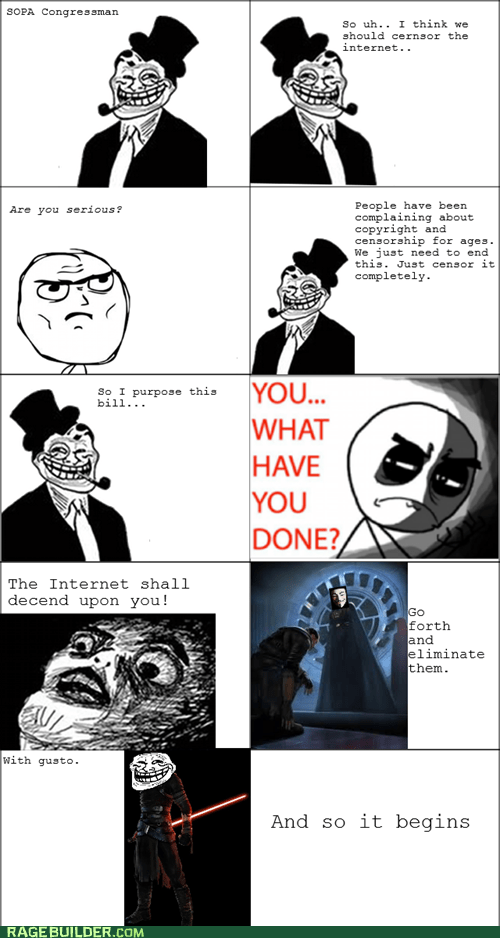 bills,internet,Rage Comics,SOPA