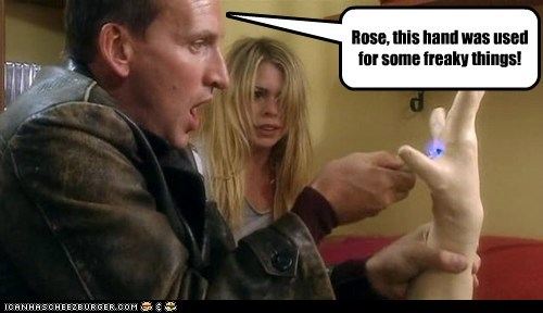 billie piper,christopher eccleston,doctor who,living plastic,rose tyler,the doctor