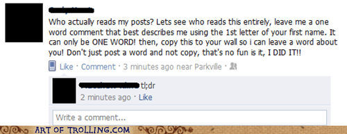 facebook posts tldr word - 5444354304