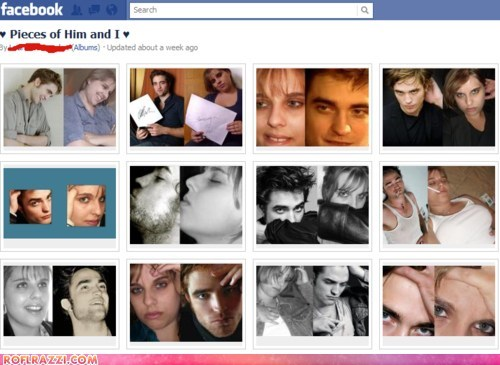 actor celeb creepy facebook funny robert pattinson - 5444361472