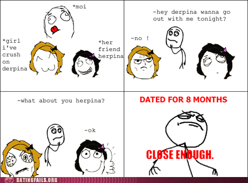 asking out best friend comic crush friend rage comic We Are Dating - 5444377088