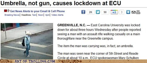 gun IRL lockdown news umbrella - 5444419840