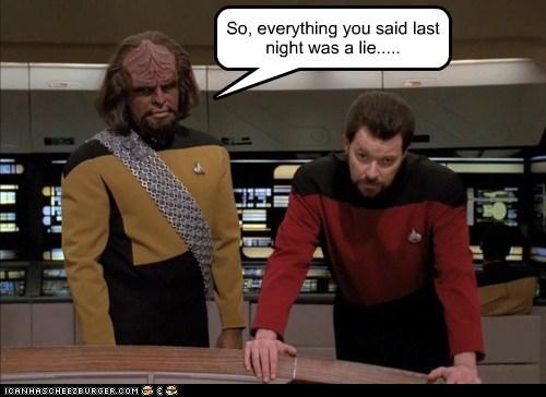 Jonathan Frakes Michael Dorn Star Trek william riker Worf - 5444462080