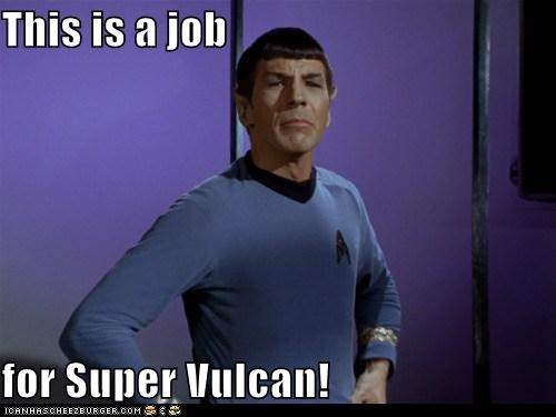 This is a job for Super Vulcan!