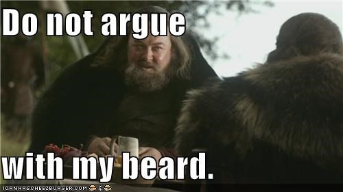 a song of ice and fire beard Game of Thrones Mark Addy Robert Baratheon - 5444672256