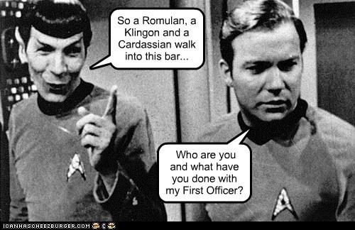Captain Kirk Leonard Nimoy Shatnerday Spock Star Trek William Shatner - 5444885248
