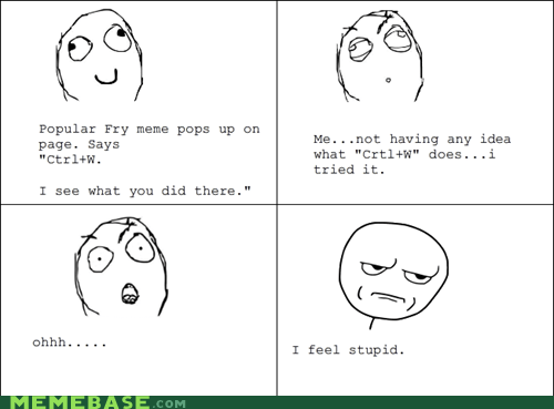 ctrlw fry Rage Comics what you did there - 5445067776