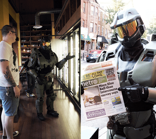 armor breakup cosplay costume halo master chief Nerd News video games - 5445110272