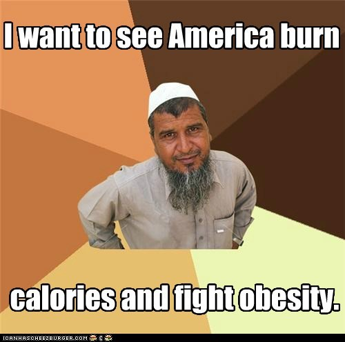 america,calories,obesity,Ordinary Muslim Man,the burn
