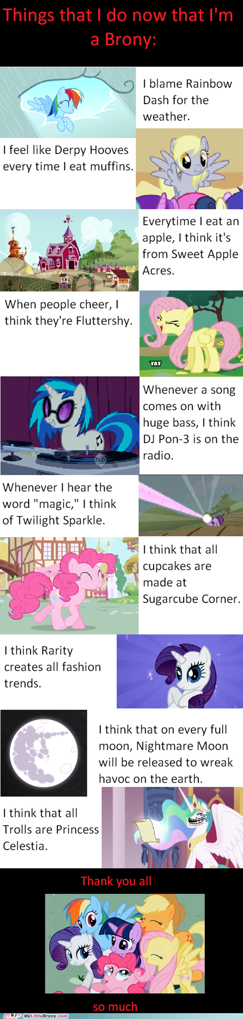 best of week,how i see life,lauren faust,lessons,meme,my little pony,thank you