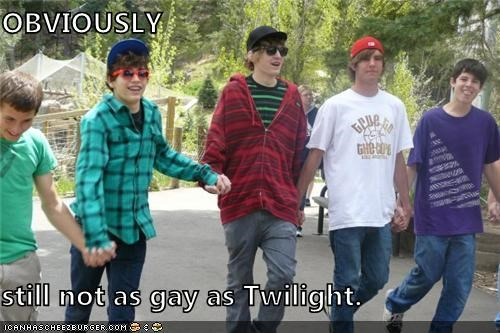 not as gay as twilight,sing,twilight,weird kid