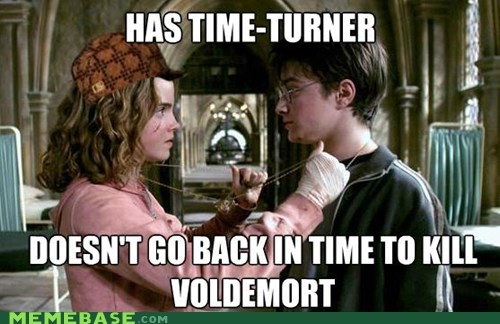 Harry Potter hermione Scumbag Steve time travel voldemort - 5445683200