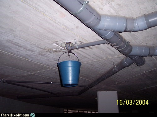 bucket,dual use,pipes,plumbing