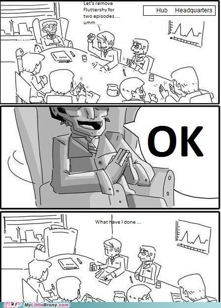 comic fluttershy hub HQ meme season 2 - 5446428160