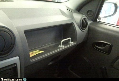 cars glovebox safety first taxi