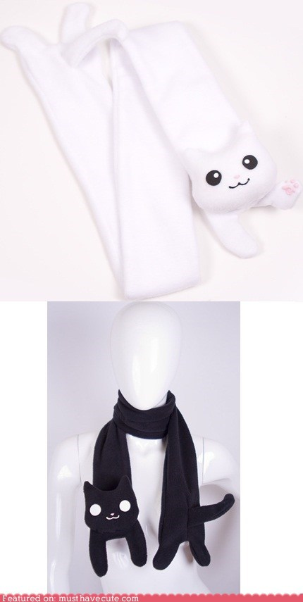 apparel best of the week cat longcat meme scarf tacgnol - 5446855936