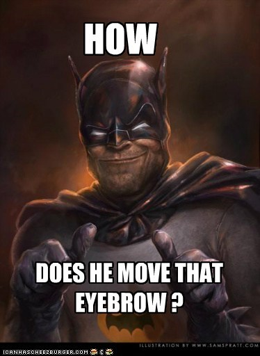 batman eyebrow mystery Super-Lols - 5447079680