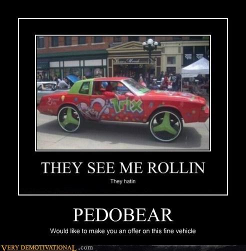 car,hilarious,pedobear,trix,wtf