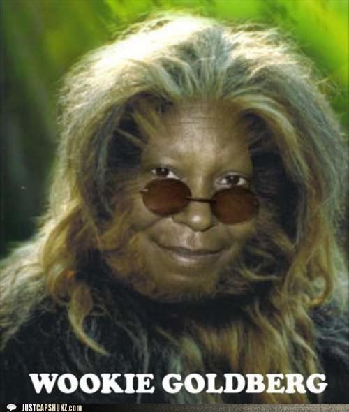 actors actresses chewbacca whoopi goldberg wookie goldberg - 5447140352