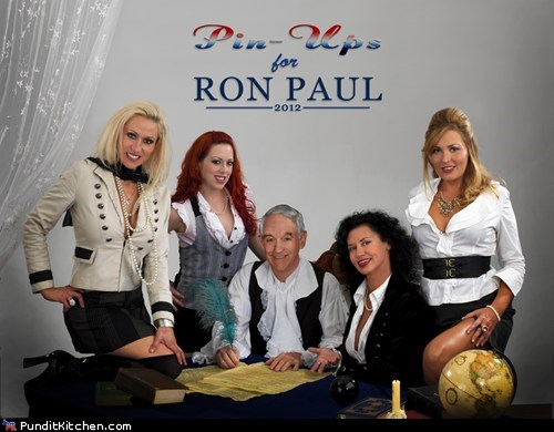 election 2012 girls Libertarians pin ups political pictures Ron Paul sexy women - 5447315200