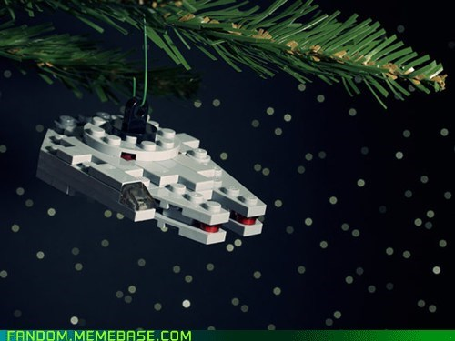 Christmas ornaments Fan Art lego star wars - 5447390720