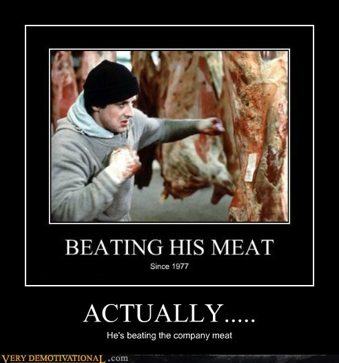 beating,hilarious,meat,Movie,rocky
