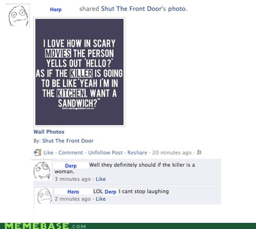 facebook killer kitchen sandwich woman - 5447459072