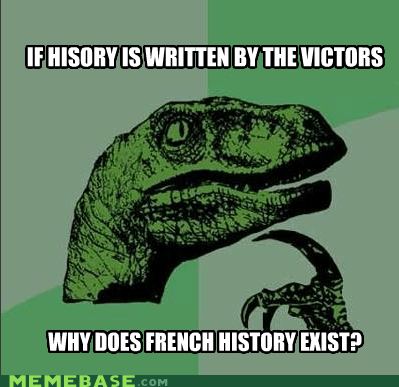 Philosoraptor: France Is No Winner